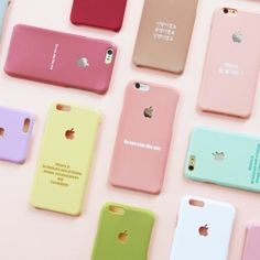 Smart Phone Cases original logo pastel cell phone case
