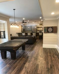 Best Finished Basement Ideas fot Teen Hangout Finished Basement Ideas on a budget, man cave, families, low ceiling, layout #HouseIDeas #LaundryRoomIdeas #KitchenIdeas #FirePlaceIdeas #KitchenIsland