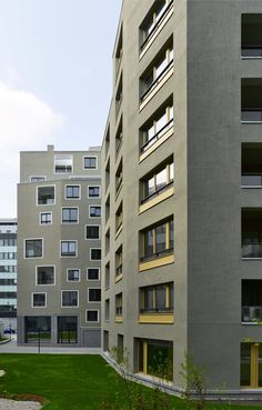 Sergison Bates Architects, Stefan Müller · Urban housing, Nordbahnhof
