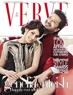 The new cute couple in town: Genelia and Ritesh. Love them!