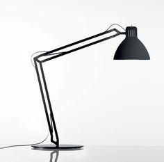 Looksoflat Desk Lamp by Ingo Maurer — ECC Lighting & Furniture