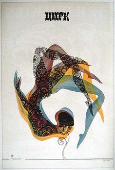 Soviet Circus Poster, c 1965, Artist: L. Modina