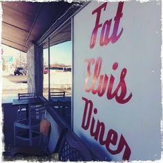 Fat Elvis Diner, Route 66 - Yukon, Oklahoma