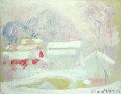 Claude Monet - Sandviken, Norway, 1895