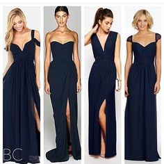 For bridesmaids pic via @brides_central #bridesmaids #color #dresses