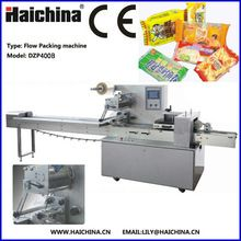 Best Selling DZP400B High Speed Automatic Horizontal Flow Wrapper Machine for Packing Cakes