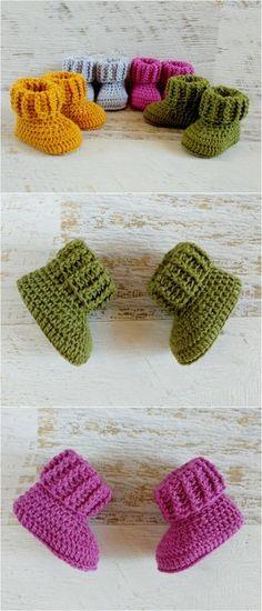 Stylish Quick Random Free Crochet And Knitting patterns – Knitting patterns, knitting designs, knitting for beginners. Baby Knitting Patterns, Knitting Designs, Baby Patterns, Crochet Patterns, Free Knitting, Crochet Cap, Easy Crochet, Free Crochet, Baby Boots Pattern