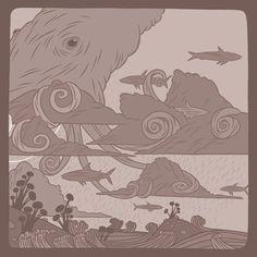 POLYGLOT : DREAMING THE WORLD AWAY Ghostshrimp (Dan James) Ghost Shrimp, Graphic Designers, Adventure Time, Amazing Art, Art Reference, Illustrators, Dan, World, Drawings