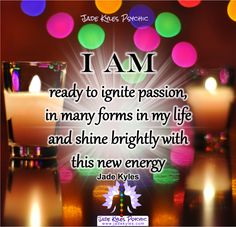 I am ♡ Many blessings Jade Kyles Psychic ♡ Thanks for connecting. I would love you to visit me at www.jadekyles.com or on fb at www.facebook.com/jadekylespsychic . You can also subscribe to my channel at www.youtube.com/jadekylespsychic
