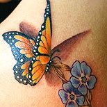 I want this butterfly on my shoulder!