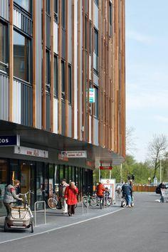commercial centre eschmarke :: facade detail