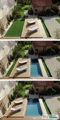 80 Blue Small Pools Backyard Ideas