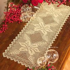 doily tulips on the table. Thi