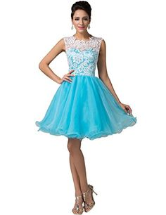 Grace Karin® Women's Short Prom Dresses Homecoming with Lace Hollow-Out Bodice CL6123 (2) GRACE KARIN http://www.amazon.com/dp/B00Q49PMFE/ref=cm_sw_r_pi_dp_0fo1vb18A8NXF