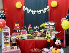 Darren's 2nd Birthday Party - Mickey Mouse