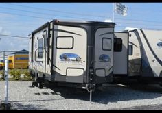 Shop our huge selection of motor homes, travel trailers, fifth wheels and toy haulers. Travel Trailers For Sale, Kitchen Models, Rv For Sale, Motorhome, Us Travel, Recreational Vehicles, How To Find Out, Florida, Outdoor
