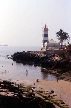 Estoril - Cascais (Portugal) Cascais - Phare du Guide my birthplace <3