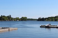 Lake of the Woods (Kenora, Ontario) Just a common view when you live here...