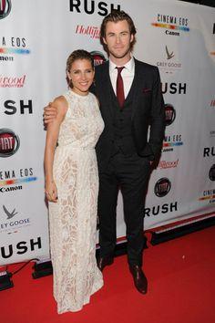 Festival Internacional de Cine de Toronto 2013 Elsa Pataki y su esposo Chris Hemsworth