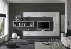 Modern Wall Units For Tv For You. Home Furniture. Bendut Home . Modern Wall Units, Modern Tv, Tv Decor, Home Decor, Tv Unit Design, Living Room Tv, Entertainment Room, Modern Entertainment Center, Ikea