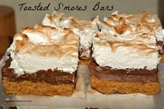 ... bittersweet s mores bars recipes dishmaps toasted bittersweet s mores