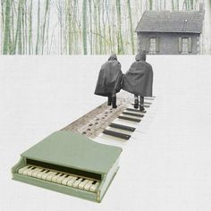 Sophie Maurin Artwork - CARO-MA COLLAGES