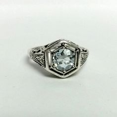 Size 5.75 Estate Silver Sterling 925 Natural 1ct by ThomasBrothers