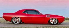 1971 Plymouth Cuda custom #Mopar #Barracuda