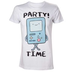 Adventure Time BMO Party Tee | Geek la Chic | Geek Clothing Challenging the Boring.