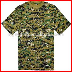 Military t shirts outdoor dress