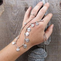 delicate tribal silver necklace silver necklace tribal by Artjuna