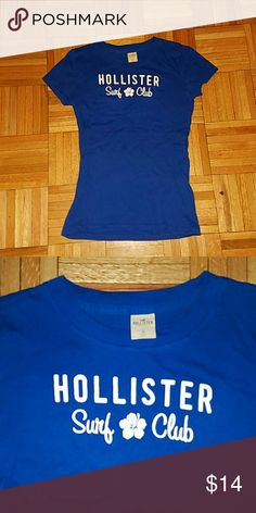 Hollister Surf Club Shirt In Excellent condition - worn twice! Hollister Surf Club T-shirt Hollister Tops Tees - Short Sleeve