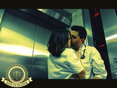 KISS ELEVATOR by Lyz Halluin, via Behance