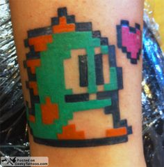 Bubble Bobble Tattoo