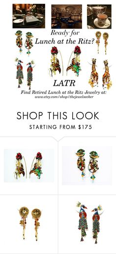 """New Listings this Week!  Don't miss out on these hard to find Retired LATR Earrings!"" by thejewelseeker-1 ❤ liked on Polyvore"