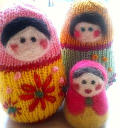 Matroyshka knit pattern...free!