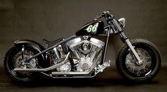 Royal's second bike. Bobber Bikes, Bobber Motorcycle, Motorcycle Design, Harley Bobber, Bobber Chopper, Harley Davidson Motorcycles, Speedway Motorcycles, Cars And Motorcycles, Custom Motorcycles