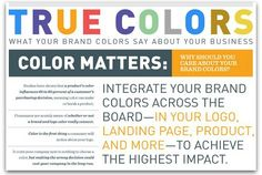 Infographic: The psychology behind colors in marketing | Articles | Main
