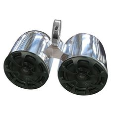 """Reborn Wakeboard Tower Twin 6.5""""bullet speaker with rear light - Single Clamp >>> See this great product."""