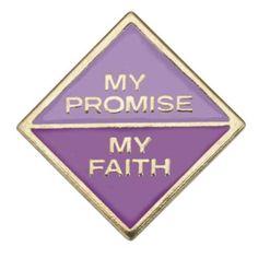 Junior My Promise, My Faith Pin - Year 1
