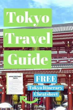 Free Tokyo Itinerary Cheatsheet. A roundup of all our favorite places and a travel guide. This is a multi-series for the cities we visited in Tokyo, Japan. #Japan #Tokyo #travelguide #itinerary #birdsofafire #travel