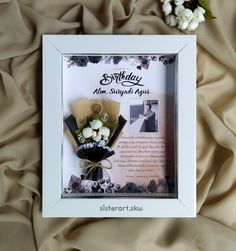 Green Eyeshadow Look, Sisters Art, Jw Gifts, Flower Frame, Acrylic Art, Hamper, Dried Flowers, Framed Art, Congratulations