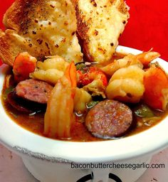 Just like my gumbo. Nothing tastes as good as a traditional, slowly cooked gumbo