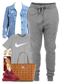 """Untitled #1518"" by power-beauty ❤ liked on Polyvore featuring NIKE, Diesel and MCM"