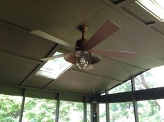 Hampton Bay Metro 54 in. Rustic Copper Indoor/Outdoor Ceiling Fan 34342 at The Home Depot - Mobile
