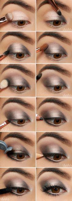 Si quieres aprender a hacer un smokey eye lleno de luz, solo tienes que seguir estas sencillísimas instrucciones: