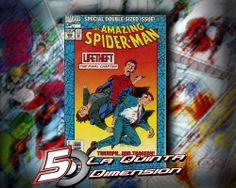 AMAZING SPIDER-MAN # 388 NÚMERO DE 64 PÁGINAS CON EL VERDADERO FINAL DE LOS PADRES DE PETER PARKER. $ 60.00 Para más información, contáctanos en http://www.facebook.com/la5aDimension