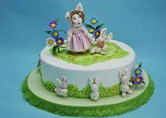 детский торт Непослушные зайчата