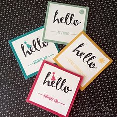 Miss Pinks Craft Spot: Hello Sale-A-Bration