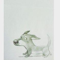 Dog sketch #sketch #sketching #dog #characterdesign #doodle #cute #art #artist #pencilart #pencil #artofinstagram #workart